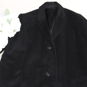 Vintage Long Coat 100% Cashmere Jacket Size M / L
